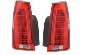 CADILLAC CTS CTS-V 2012 2013 PAIR LEFT RIGHT TAIL TAILLIGHTS REAR LAMPS LIGHTS