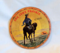 """Record Guild Of America 6.5"""" Picture Disc The Lone Prairie / Old Chisholm Trail"""