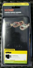 CURT Towing Trailer Light Wiring Harness 55414 2006-2010 Jeep Commander XK 4 Way