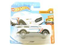 Hotwheels 2-Tuff Pick Up Truck White FYF10 Short Card 1 64 Scale Sealed