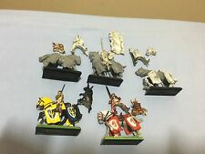 Bretonnia questing knights Metal Unit Of 5 OOP With Transfer Sheet