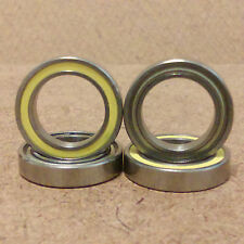 1/2 inch bore. 4 Radial Ball Bearing. Hybrid(Rubber/Metal) Seal. Lowest Friction