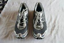ASICS GEL Men's Grey/Silver & Blue Running Shoes/Trainers EU 42.5 UK 8 1/2