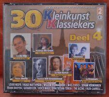 30 KLEINKUNST KLASSIEKERS DEEL 4  --- ***  2 CD - BIG BOX ***