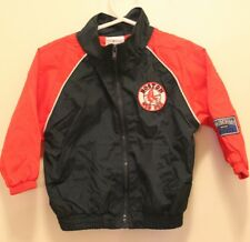 Boston Red Sox Jacket windbreaker Size 12 Months Baby Baseball kid athlete ⚾⚾⚾😘