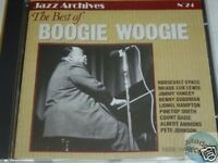 CD JAZZ ARCHIVES 024 BOOGIE WOOGIE BEST OF