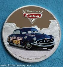 2017 Niue Silver Proof $2 Coin Disney Pixar Cars Doc Hudson