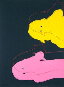 Rebecca MAYO My Beasties - Original + Signed, Contemporary Art, Screenprint