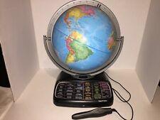 OREGON SCIENTIFIC SMART WORLD GLOBE Education SCHOOL Learning Geography WITH PEN