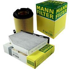 MANN-FILTER PAKET Audi A3 8P1 1.6 E-Power 2.0 FSI 8PA 1.4 TFSI 1.2 TSI