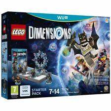 Lego 71174  Dimensions Starter PACK console Nintendo Wii U WIIU PAL FR  NEUF