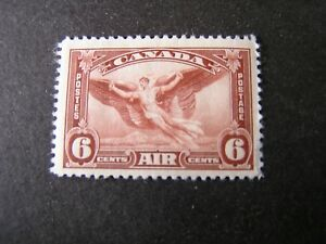 CANADA, SCOTT # C5, 6c. VALUE RED BROWN 1935 AIR POST ISSUE MNH