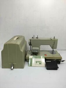 Sears Kenmore Portable Sewing Machine #1315 w/Foot Pedal & Case