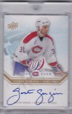 Gaston Gingras 08/09 UD Montreal Centennial Habs Inks Auto HABS-GG