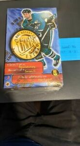 1995 - 96 NHL FLEER ULTRA FACTORY SEALED BOX