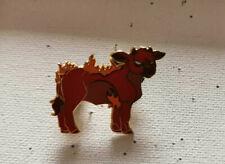 The Last Unicorn BABY RED BULL ANGRY Mini Fantasy Pin
