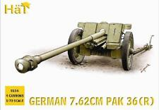 HaT 8156 1/72 Plastic WWII German 7.62 PaK 36(r) ATG-Four Models+Crews