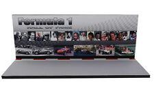 Diorama présentoir Formula 1 - Hall of Fame - 1/43ème - #43-2-D-D-004