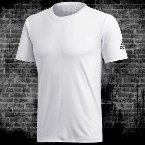 Adidas Freelift Climachill T-Shirt Sport Hommes Course Fitness Extérieur Blanc