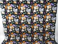 Nicole Miller Silk Fabric 1 yard x 42 Inches for Scarf Tie Wrap Dress Shirts
