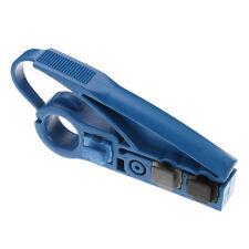 Coax Coaxial UTP Cat5e Cat6 RG6/RG59/RG11 Cable Wire Stripper Strip Cutter Tool
