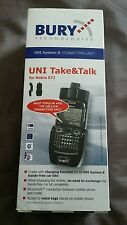 Bury System 8 Support téléphone mobile berceau Take & Talk Nokia E72 BLUETOOTH Chargeur