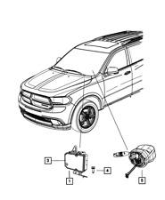 Genuine Mopar Anti-Lock Brake System Module 68382348Aa