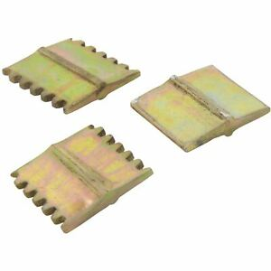 Silverline 675038 3pc Scutch Set 25mm Hammer Chisel Plain Comb Builders