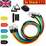 Resistance Bands Exercise Sports Gym Keep Home Yoga Latex Fitness Traning SET