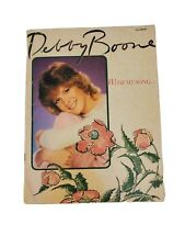 Debby Boone With My Song Sheet Music VINTAGE RARE FIND