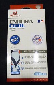 "MLB Toronto Blue Jays  ~ Mission Endura Cool Instant Cooling Towel ~ 12"" x 33"""