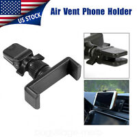 Universal Car Air Vent Mount Cradle Holder Stand For iPhone Cell phone GPS Black