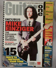 MARCH 2007 GUITAR ONE MAGAZINE INCUBUS MIKE ENZIGER