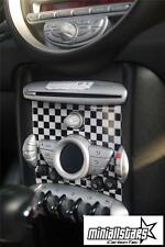 2007-2010 Checkered Flag Radio badge for MINI Cooper S R55 R56 R57 Clubman S JCW