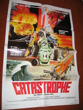 CATASTROPHE original MOVIE POSTER >1977 disaster Real TV