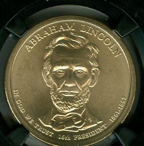 2010-D ABRAHAM LINCOLN PRES. DOLLAR NGC MS68 SMS 25TH RETRO HOLDER  *