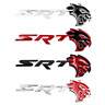 Metal SRT 3D Badge Emblem Sticker Decal Car Grille Nameplate OEM