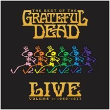 Grateful DEAD-THE BEST OF THE Grateful Dead LIVE-NUOVO 2LP-pre ORDINE - 23/3