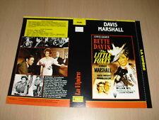 JAQUETTE VHS La Vipère (The Little Foxes) Bette Davis Herbert Marshall