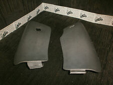 peugeot elystar 125 efi abs 2007 outer covers LHS & RHS glove box cover