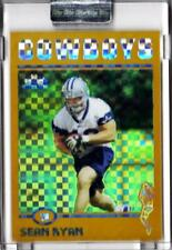 2004 Topps Chrome UNCIRCULATED GOLD XFRACTOR Dallas Cowboys Sean Ryan RC 19/279