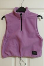 Urban Outfitters UO - 76 lilac fleece gilet vest top size M