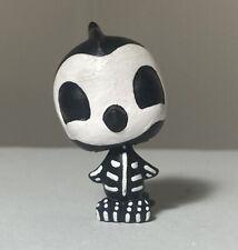 🎨💀🐧Littlest Pet Shop LPS Skeleton Bird Halloween Handpainted OOAK Custom