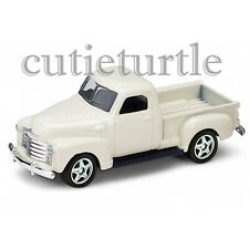 "3"" Welly 1953 Chevrolet 3100 PickUp Truck 1:60 Diecast Toy Car 58144D Cream"