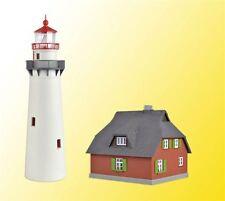 Kibri HO 39153 Leuchtturm Hiddensee mit Nebengebäude Bausatz Neuware