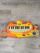 B Toys Meowsic Cat Keyboard Piano Microphone New Toy