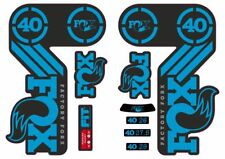 Fox 40 Heritage 2015 Fork Suspension Factory Decal Sticker Adhesive Blue