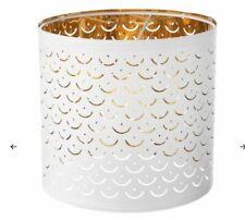 Ikea NYMÖ Lamp shade, white, brass-colour, 24 cm NYMO 103.772.00 UK-BMC