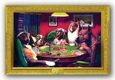 ART PRINT POSTER Dogs Poker C M Coolidge