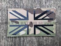 LASER CUT UNION JACK PATCH MTP Multicam BTP UK Flag Tactical Morale Badge MOLLE